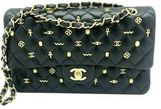 Chanel Egyptian Amulet Classic Double Flap Bag