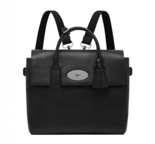 Mulberry Black Leather Cara Delevigne Backpack