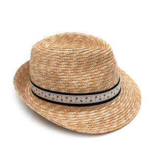 Il Trenino Artisanal Straw Hat with Anchor Band