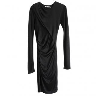 T by Alexander Wang Ruched Stretch Fitted Dress