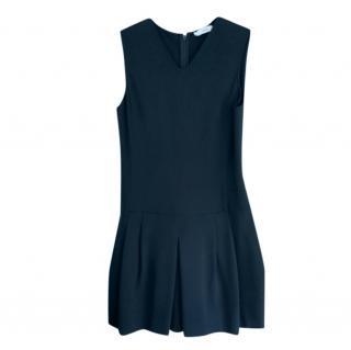 Vince Black V-Neck Sleeveless Dress