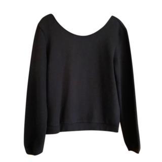 Claduie Pierlot Black Lace Detailed Top