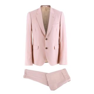Paul Smith Light Pink Wool Single Breasted Suit
