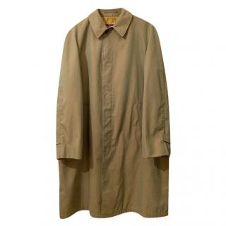 Burberry Commander 2 olive trench coat