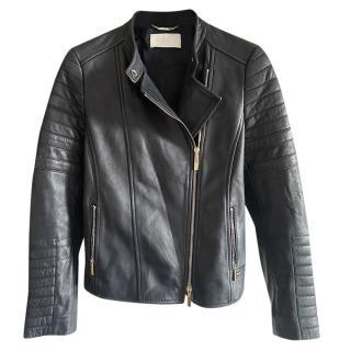 Boss Hugo Boss Asymmetric Leather Jacket
