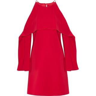 Rosetta Getta Red Stretch Cady Mini Dress
