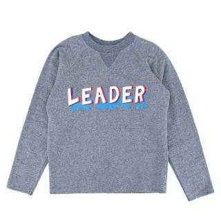 Bonpoint Blue Cotton Leader Sweater
