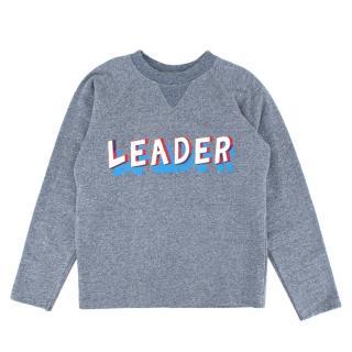 Bonpoint Blue Cotton Leader Sweater
