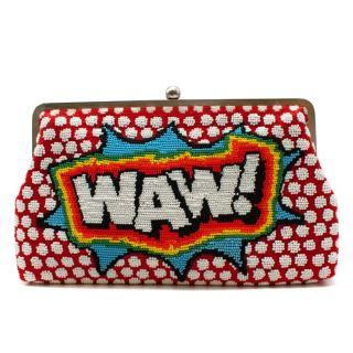 Sarah's Bag WAW Embelished Clutch