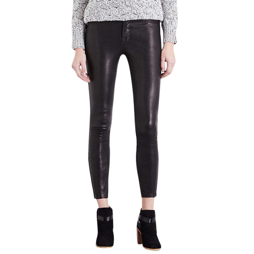 J BrandNavy  'L8001 Mid Rise Skinny Pant' jeans