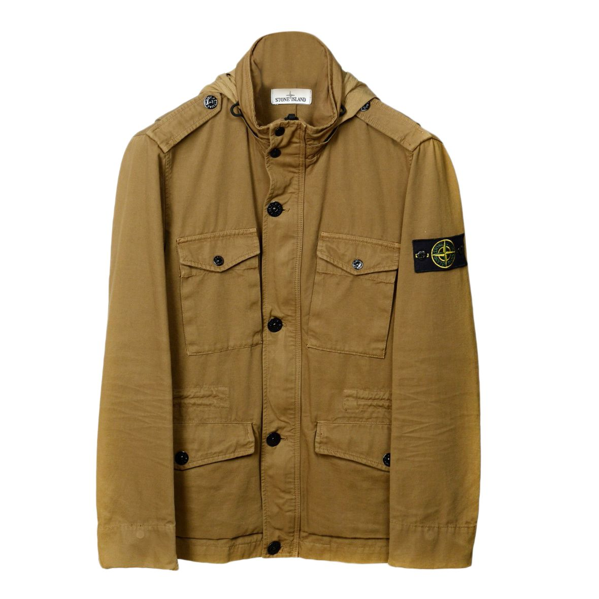 Stone Island Mens Military Field Jacket