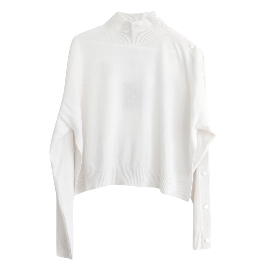 Louis Vuitton oversized cream cashmere sweater