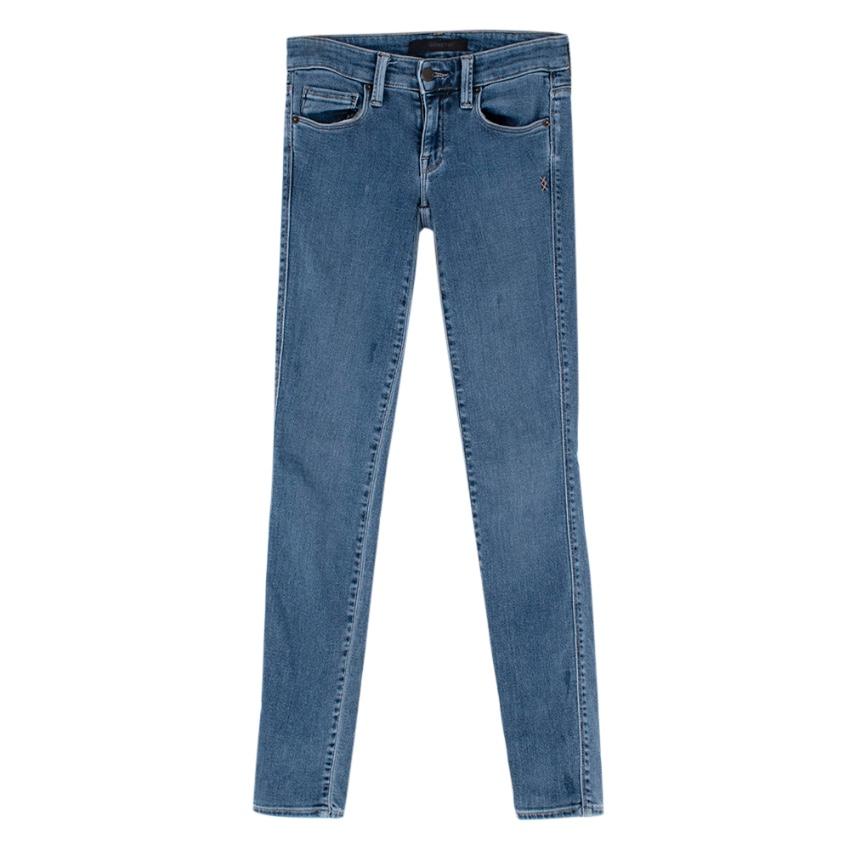 Genetic Blue Denim Skinny Fit Stretchy Jeans