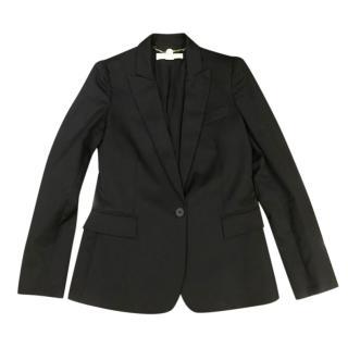 Stella McCartney Black Wool Tailored Jacket