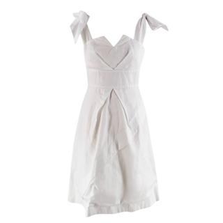 Paper London White 'Rose' Dress