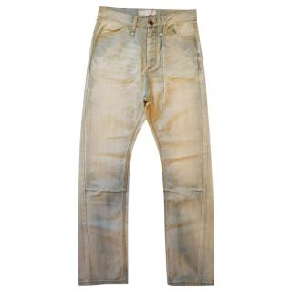Alexander Wang Pebble Bleached Jeans
