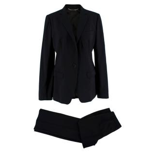 Dolce & Gabbana Black Martini Two Piece Suit