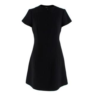 Theory Black A-Line Dress