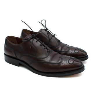 Bally Scribe Brown Leather Brogues
