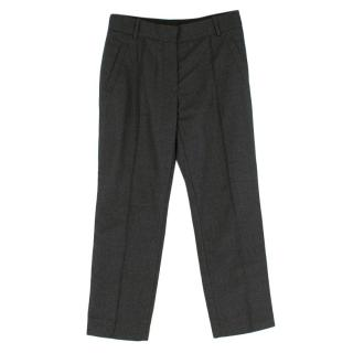 Louis Vuitton Grey Wool Trousers