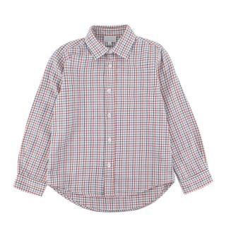 Fanna Red & Blue Checkered Long Sleeve Shirt