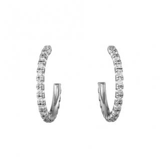 Cartier Diamond Etincelle de Cartier hoop earrings, small model