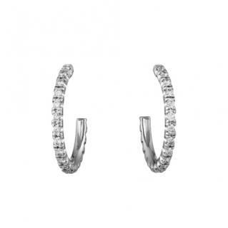 Cartier Diamond Etincelle de Cartier hoop earrings, small model