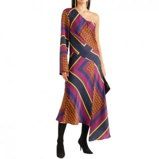 House of Holland One Shoulder Cambodian Dress