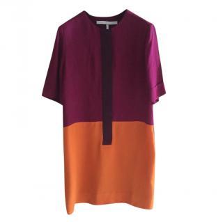 Victoria Victoria Beckham Colour block Shift Dress