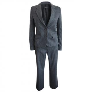 Joseph Grey Wool Tailored Two-Piece Suit