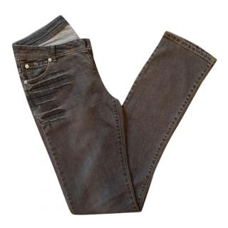 Thomas Wylde Grey Distressed Jeans