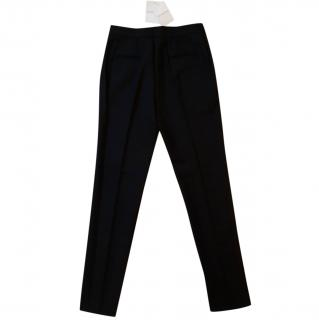 Givenchy Black Tailored Wool Pants