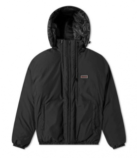 Givenchy Men's Black Triple Zip Short Puffer Jacket