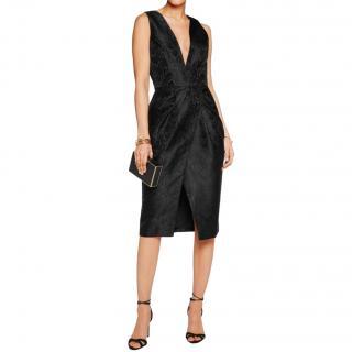 Zimmermann Black Jacquard Sleeveless dress
