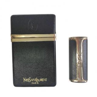 Yves Saint Laurent Vintage cigarette box & lighter holder