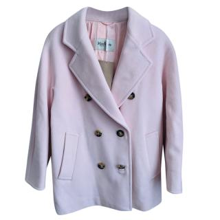 Max Mara Pale Pink Wool Jacket