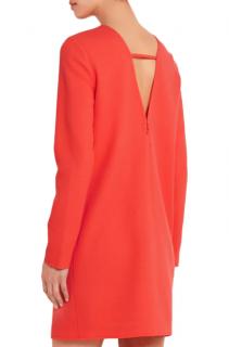 Victoria Victoria Beckham V-back wool-crepe mini dress
