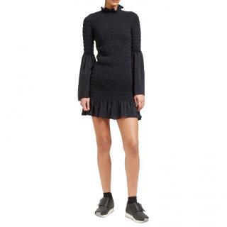 Stella McCartney Kate Ruched Frill Dress