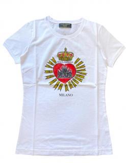 Dolce & Gabbana DG Milano white t shirt