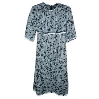 Dolce & Gabbana Boucle Wool Midi Dress