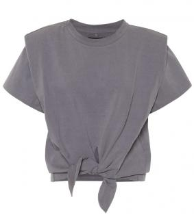 Isabel Marant Grey Boxy Belita Top