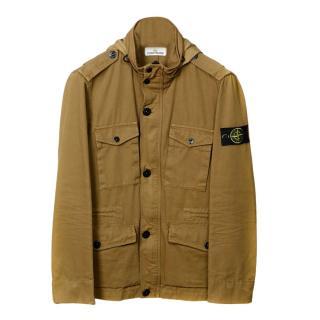 Stone Island Mens Military Field Jacket