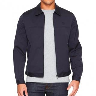 Aquascutum navy reversible Brackley Club Check Jacket