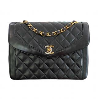 Chanel Teal Quilted Leather Medium Boy Bag