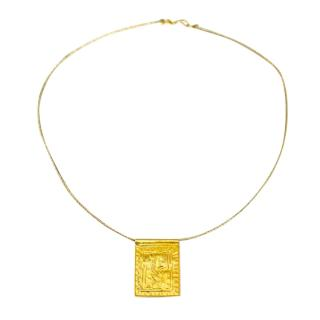 Pippa Small 18kt Yellow Gold Pendant Necklace