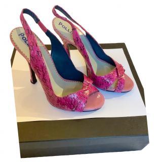 Pollini Slingback Sandals