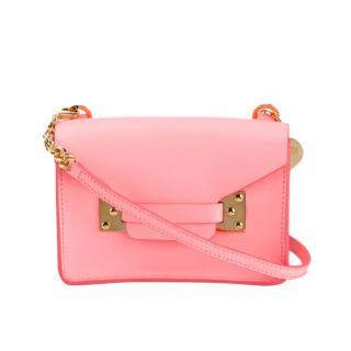 Sophie Hulme Pink 'Milner' Cross Body Bag
