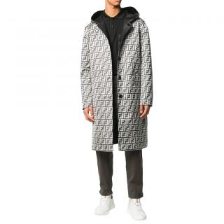 Fendi Reversible Men's Zucca Overcoat