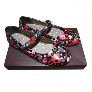 Paul Smith Junior Printed Ballerinas