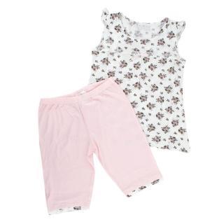 Story Loris Pink & White Floral Print Pyjama Set